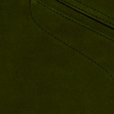 Rindspaltleder oliv